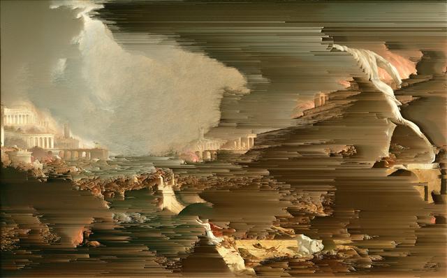 , 'The Course of Empire - Destruction (After Thomas Cole),' 2016, Galerie Huit