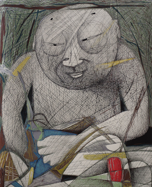 , 'Human Buddha,' 2009, Katrine Levin Galleries