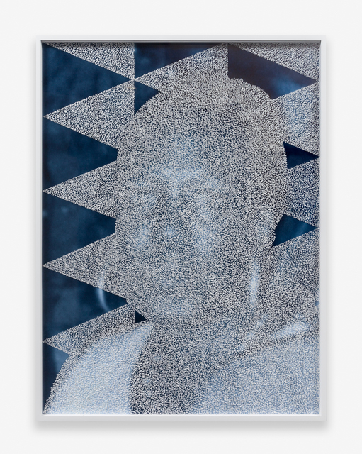 , 'Mask #4,' 2015, Luis De Jesus Los Angeles