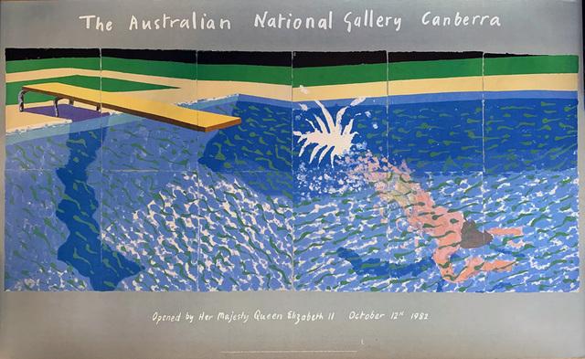 David Hockney, 'A Diver', 1978, David Lawrence Gallery