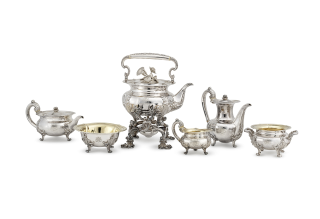 , 'Six-piece tea and coffee service,' Paris-20th century, Liang Yi Museum