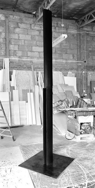 Michal Budny, 'Untitled yet (The column)', 2019, Galerie nächst St. Stephan Rosemarie Schwarzwälder