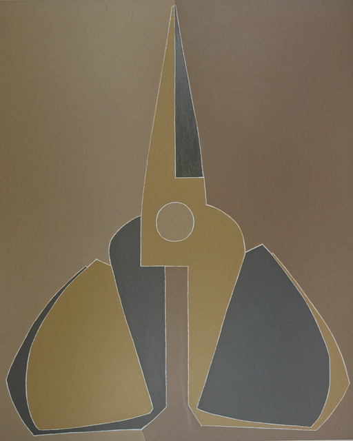 , 'Outline, Yellow-grey Scissors, Upright ,' 2007, Tang Contemporary Art