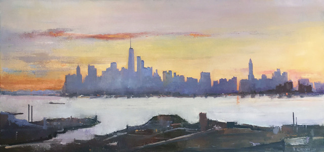 , 'New York, From Brooklyn Heights,' 2018, Madelyn Jordon Fine Art