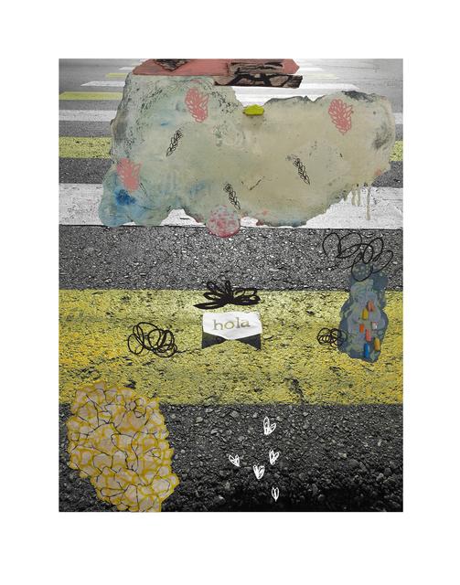 , 'Hola de papel,' 2016, Lux Perpetua Art Centre