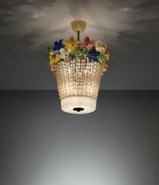 Flavio Poli, 'Ceiling light,' 1950s, Phillips: Design