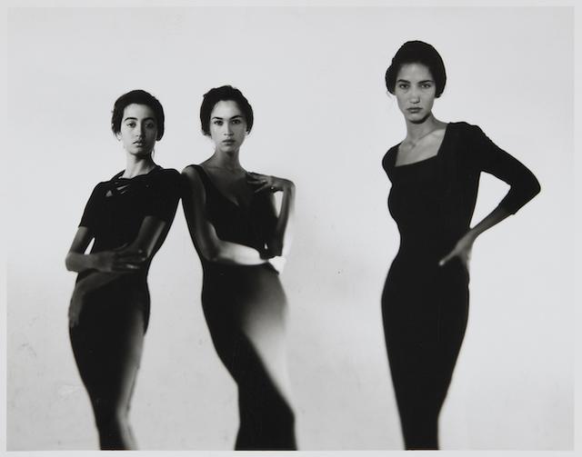, 'Maria Buccellati, Cristina Cascardo and Marpessa Hennink in Dolce & Gabbana,' 1989, 29 ARTS IN PROGRESS gallery