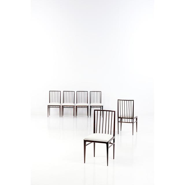 Geraldo de Barros, 'Set of six chairs', 1960, PIASA