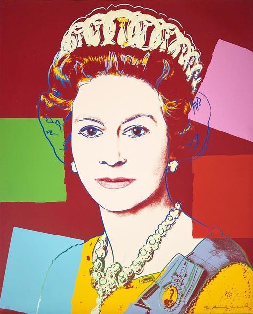 Andy Warhol, 'Queen Elizabeth II of United Kingdom II.334', 1985, Hamilton-Selway Fine Art
