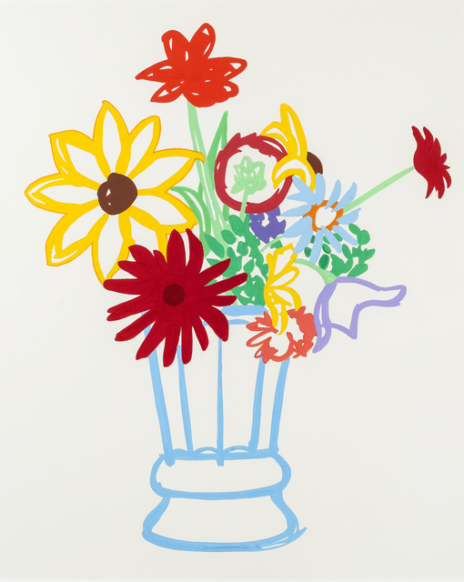 , 'Study for Wildflower Bouquet,' 1990, Art Of The World Gallery