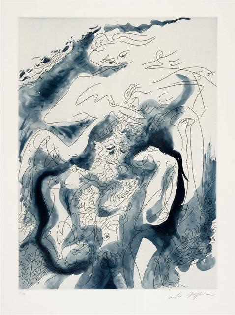 """André Masson, ' Samson et Dalila des """"Amants Célèbres""""', 1979, Le Coin des Arts"""