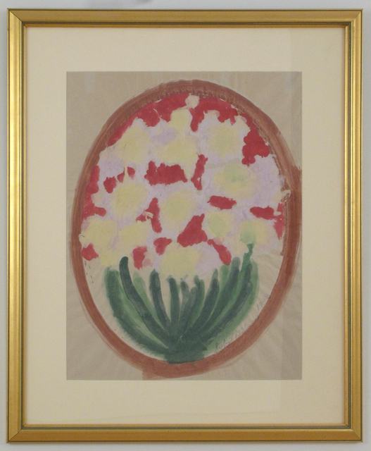 Sybil Gibson, 'Flowers in a Circle', 1993, Woodward Gallery