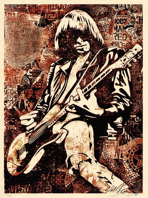 Shepard Fairey (OBEY), 'Johnny Ramone', 2008, Gallery 211