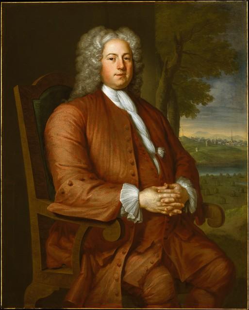 John Smibert, 'Francis Brinley', 1729, The Metropolitan Museum of Art