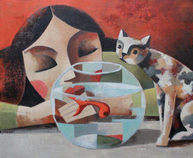 , 'Mientras duermes,' , GALERIA JORDI BARNADAS
