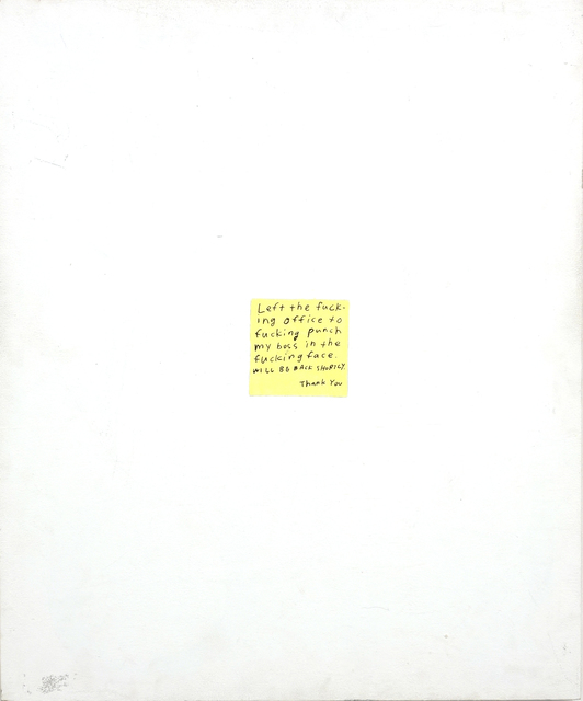 , 'Post-it,' 2014, CLEAR EDITION & GALLERY