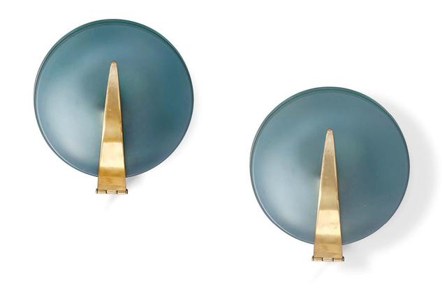 Max Ingrand, '2 table lamps', circa 1960, Aguttes