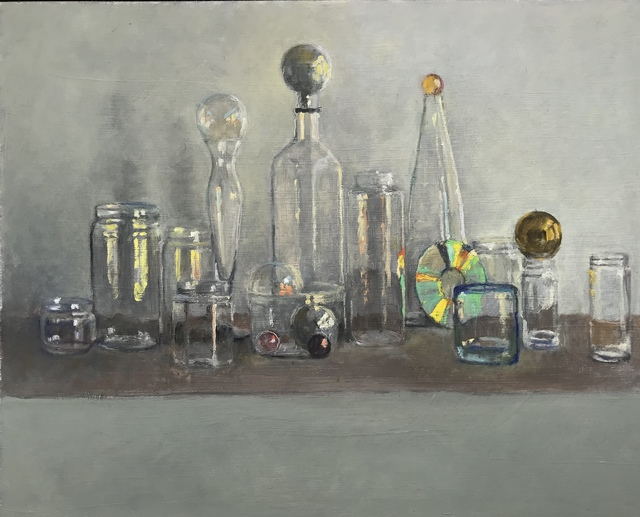 , 'Modern Still Life with Mexican Glass, Vivid Memories,' 2018, Les Yeux du Monde Gallery