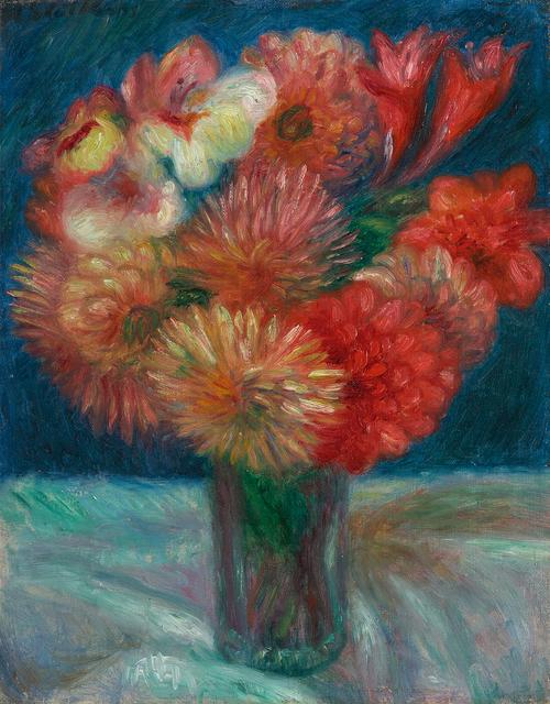 , 'Vase of Flowers,' , Questroyal Fine Art