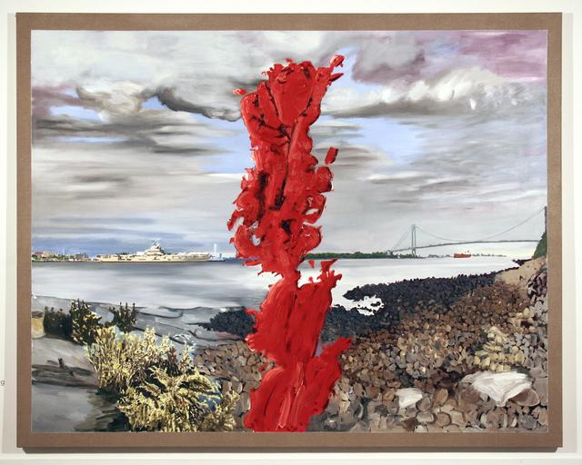 , 'La plage de pêche de Garibaldi,' 2008, Anne Barrault