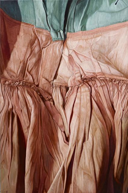 , 'Pink Pleats,' 2014, Mind Set Art Center