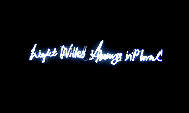 , 'Light Writes Always in Plural,' 2008, Yi Gallery