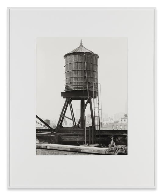 , 'Water Tower, Broadway/Houston Street, New York City, USA,' 1978, Sprüth Magers