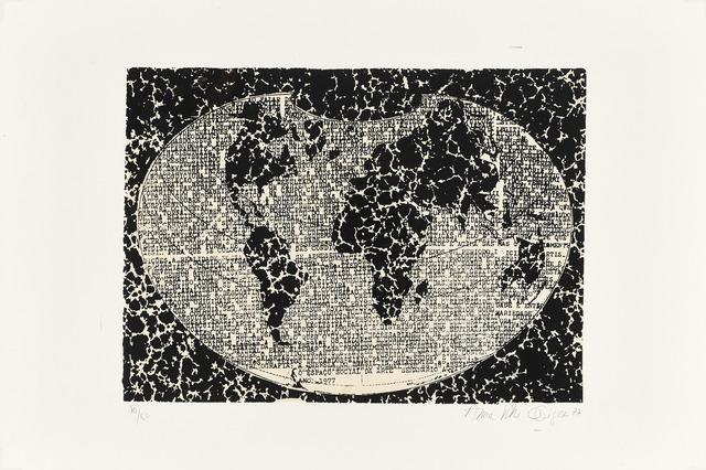 , 'O espaço social da arte,' 1977, Henrique Faria Fine Art