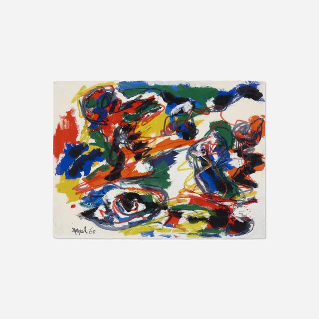 Karel Appel, 'Têtes Comme un Paysage', 1960, Rago/Wright