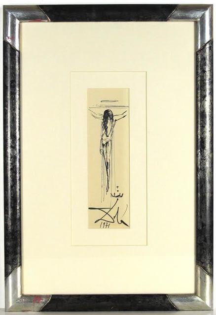 Salvador Dalí, 'Corpus Hypercubus', 1971, Robin Rile Fine Art