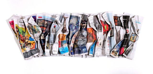 , 'NY Times 11-29-17 Fine Arts & Exhibits,' 2018, Galerie de Bellefeuille