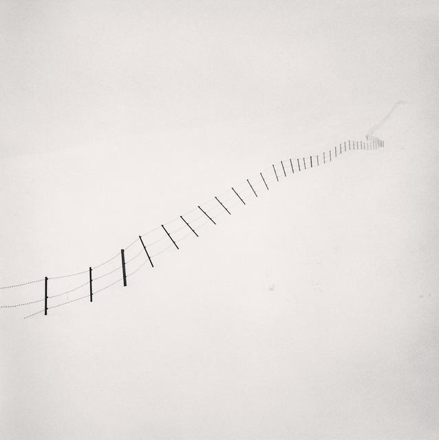 , 'Hillside Fence, Study 4, Teshikaga, Hokkaido, Japan,' 2002, photo-eye Gallery