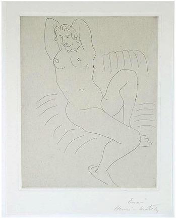 , 'NU AU FAUTEUIL RAYE,' 1929, Galerie Maximillian