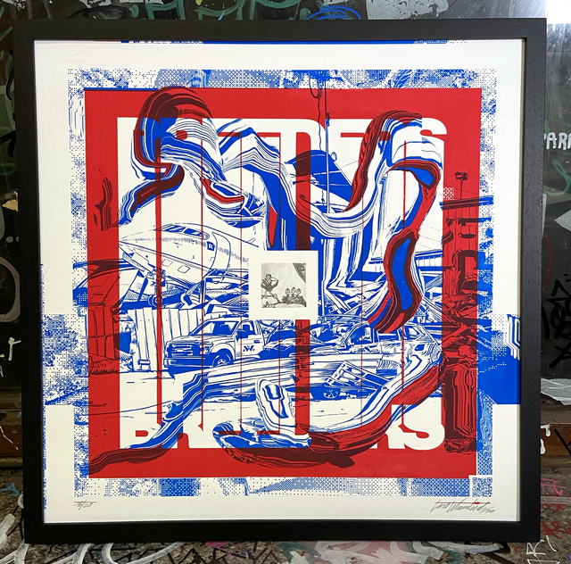 Lars Wunderlich, 'Breeders', 2020, Print, 2-color screen print on SomersetSatin Tub 310g/sm, Urban Spree Galerie