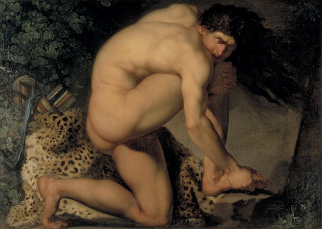 , 'The Wounded Philoctetes,' 1775, Statens Museum for Kunst
