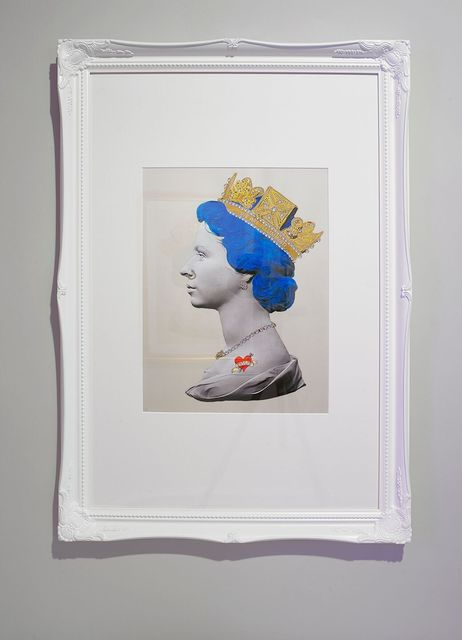 Mark Sloper, 'Blue Punk Queen Large', Flat Space Art