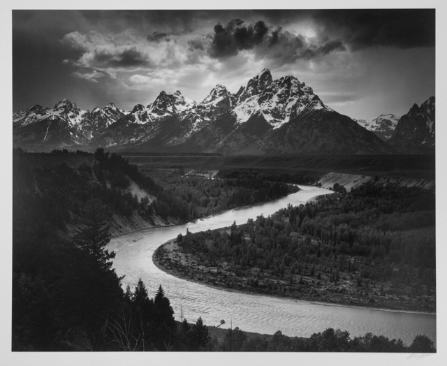 , 'The Tetons and the Snake River, Grand Teton National Park, Wyoming,' ca. 1942, Photography West Gallery