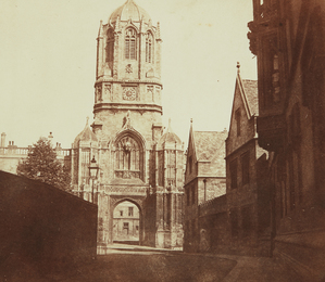 William Henry Fox Talbot, 'Gates of Christchurch, Oxford,' ca. 1844, Phillips: The Odyssey of Collecting