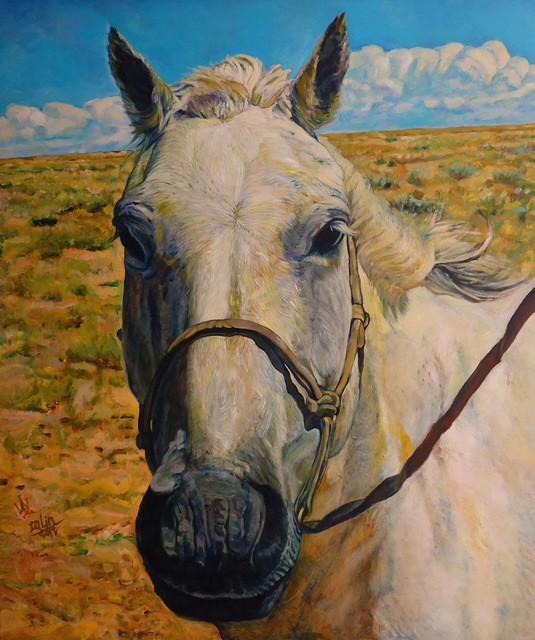 , 'White Horse I,' 2012, Alisan Fine Arts