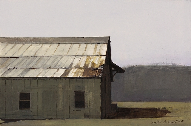 , 'Grey Barn,' 2016, Cutter & Cutter Fine Art