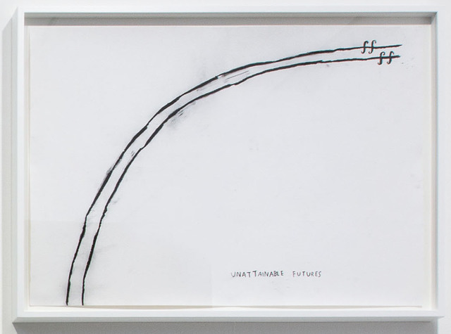 , 'Unattainable Futures,' 2015, Carroll / Fletcher