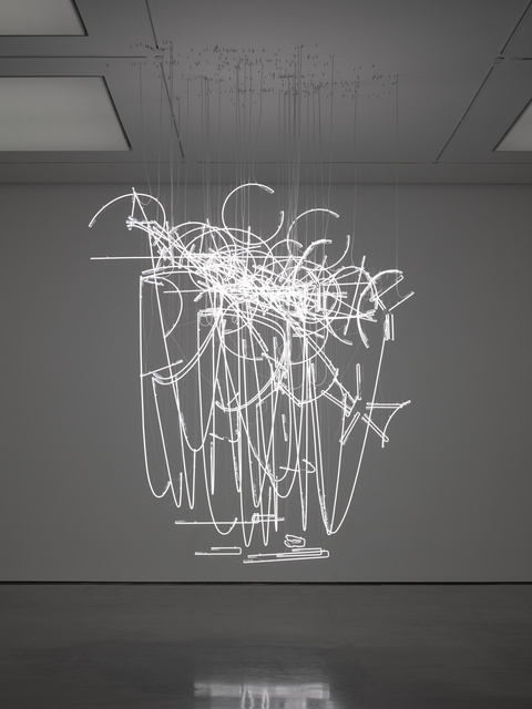 , 'Neon Forms (after Noh I),' 2015, White Cube