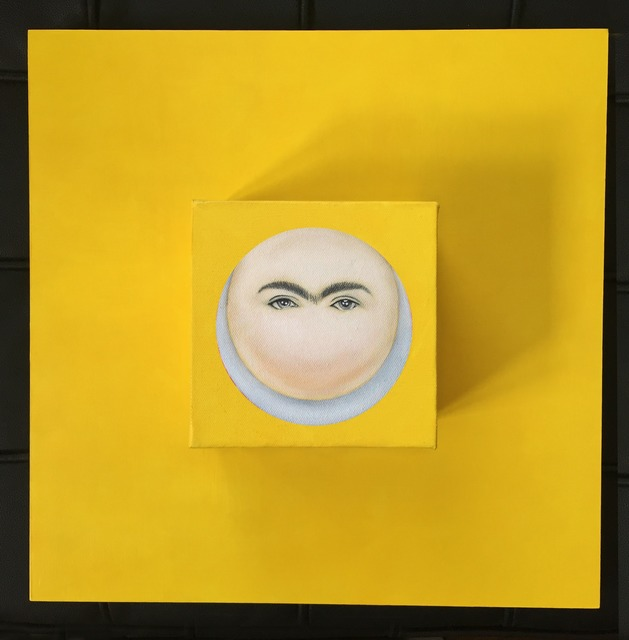 , 'Moon-Frida in Yellow,' 2015, Studio 905 on Juniper