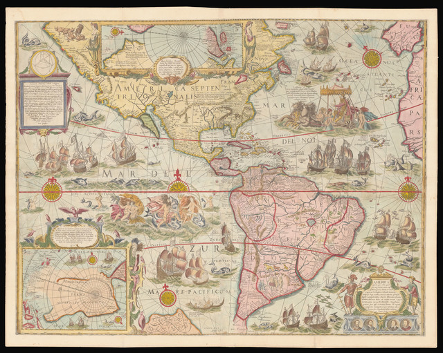 , '[Set of the maps of the four continents]. ,' [1673-or later], Daniel Crouch Rare Books