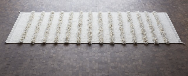 , ''Untitled', rug,' 1990, Galleri Feldt