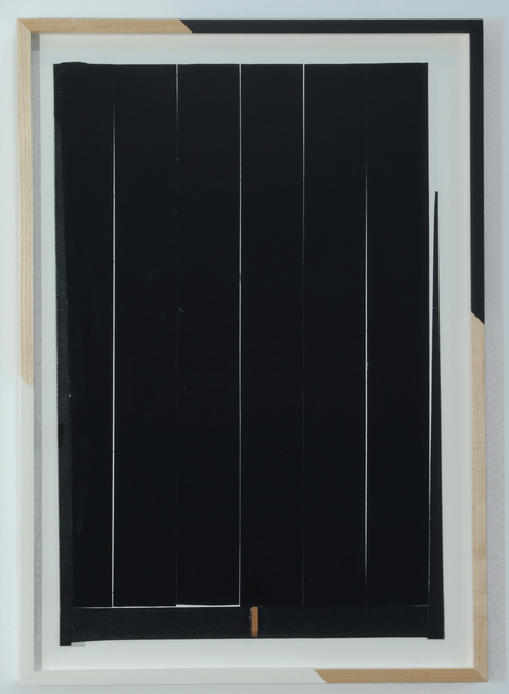 , 'Untitled (Cream Gap and Black),' 2014, Nicelle Beauchene Gallery