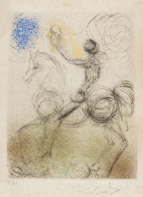 Salvador Dalí, 'Cavalier La Mort', 1968/69, Hidden