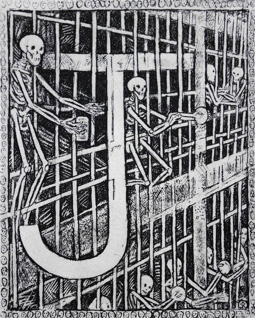 , 'J - Jail,' 2014, Bert Green Fine Art
