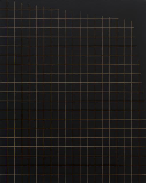 , 'Sem título (grade com recorte lateral superior) [Untitled (grid with top side trim)],' 2017, Casa Triângulo