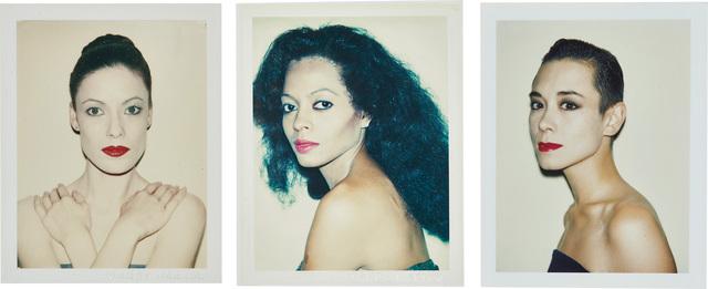 Andy Warhol, 'Karen Kaine, Diana Ross, Tina Chow', 1980-1985, Phillips
